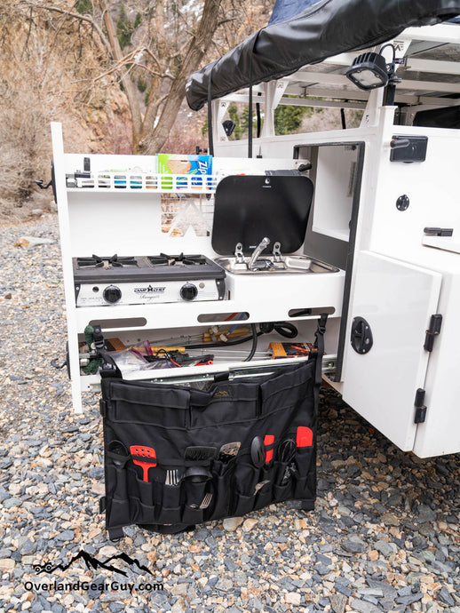 Camping Utensil Organizer by Overland Gear Guy