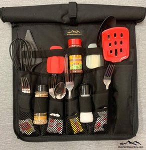 Pacifica Overland Utensil Organizer by Overland Gear Guy - Overland Utensil Pouch