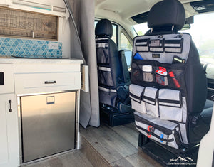 Sprinter II Seat Organizer - Obsidian Gray - Vehicle Seat Organizer by Overland Gear Guy