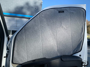 Insulated Front Cab Window Covers for Promaster van by Overland Gear Guy
