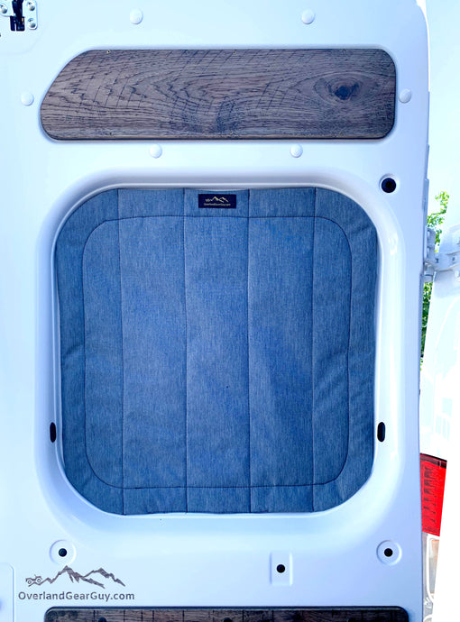 Premium Promaster Rear Window Covers by Overland Gear Guy