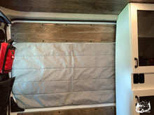 Load image into Gallery viewer, Promaster Magnetic Insulated Sliding Door Window Cover by Overland Gear Guy - Custom Campervan Window Covers