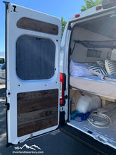 Load image into Gallery viewer, Dodge Ram Promaster Van Magnetic Insulated Rear Window Covers