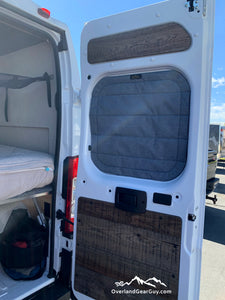 Dodge Ram Promaster Van Magnetic Insulated Rear Window Covers