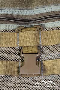 T-ring adapter for PALS / MOLLE webbing