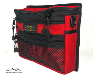 Red Jeep Grab Handle Pouch by Overland Gear Guy