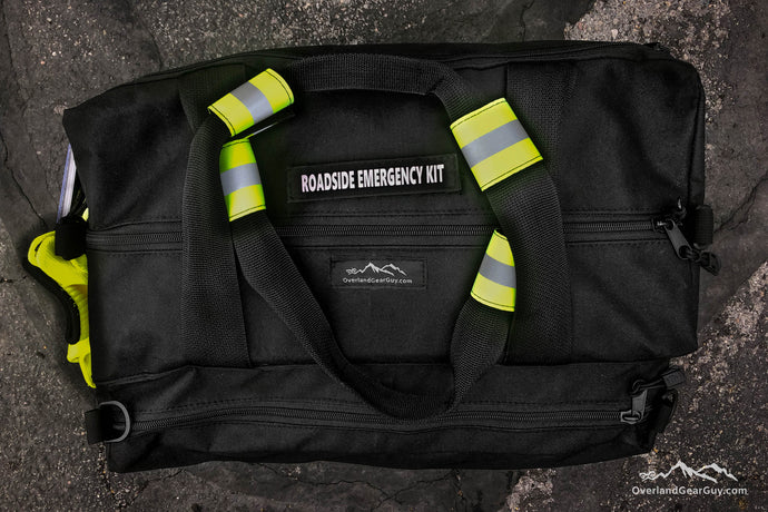 Overland Roadside Emergency Bag - Off Road Roadside Emergency Bag with reflective by Overland Gear Guy