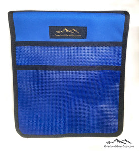Roof Top Tent Blue Storage Bag by Overland Gear Guy