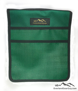 Roof Top Tent Green Storage Bag by Overland Gear Guy