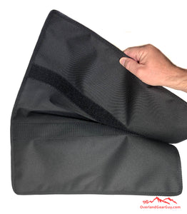 Roof Top Tent Storage Bag by Overland Gear Guy - Quickly Attaches with velcro