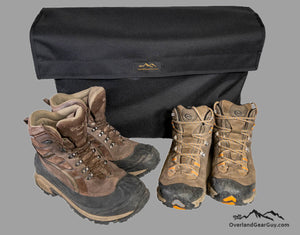 Roof Top Tent Shoe Bag by Overland Gear Guy, Shoe Storage for Roof Top Tent, Boot Bag storage bag