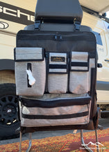 Load image into Gallery viewer, Scheel-Mann seat organizer by Overland Gear Guy