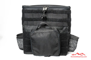 Custom Black Headrest Storage Bag by Overland Gear Guy