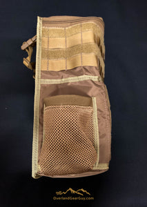 Custom Coyote Headrest Storage Bag by Overland Gear Guy