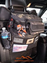 Load image into Gallery viewer, Headrest Storage Bag with optional MOLLE pouch by Overland Gear Guy