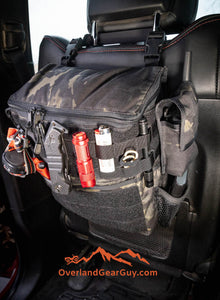 Headrest Storage Bag with MOLLE by Overland Gear Guy