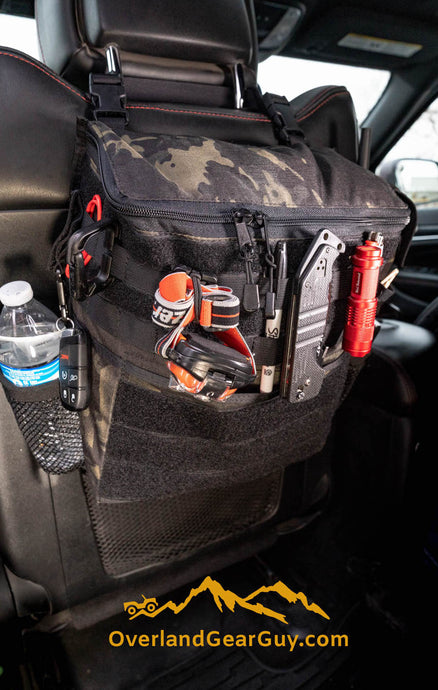 Headrest Storage Bag by Overland Gear Guy