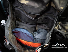Load image into Gallery viewer, Headrest Storage Bag with inside pockets by Overland Gear Guy