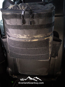 Interior Headrest Storage Bag with MOLLE by Overland Gear Guy