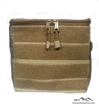 Load image into Gallery viewer, Tan Sequoia Headrest Bag by Overland Gear Guy - Vehicle Seat Cargo Pouch