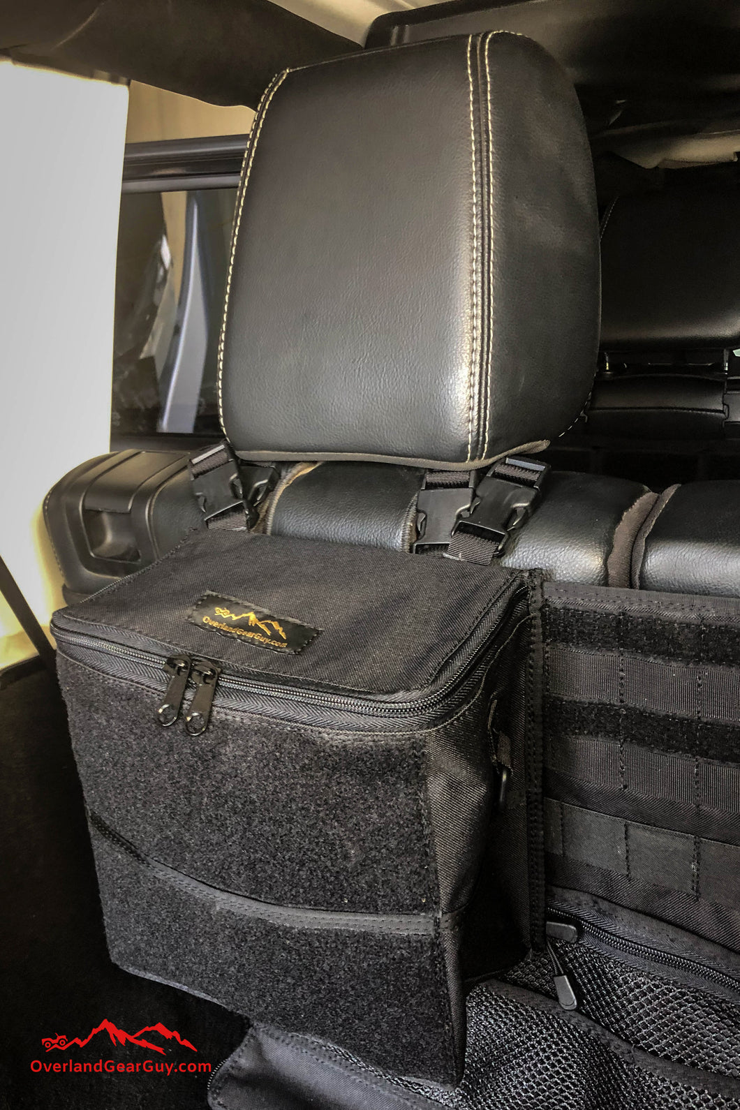 Sequoia Mini Headrest Bag by Overland Gear Guy