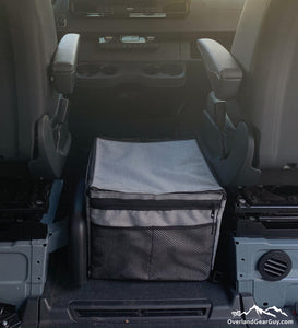 Mercedes Sprinter Van Center Console Caddy by Overland Gear Guy - Sprinter Van storage and accessories