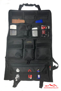 Sprinter II Seat Organizer - Black Vehicle Seat Organizer by Overland Gear Guy