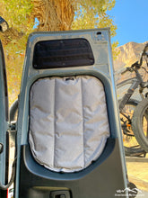Load image into Gallery viewer, Premium Sprinter Havelock Wool Insulated Rear Window Covers by Overland Gear Guy