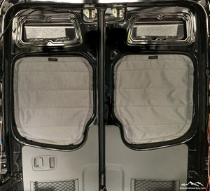 Sprinter Van Magnetic Rear Window Covers by Overland Gear Guy