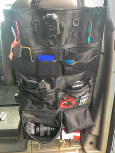 Mercedes Sprinter Van Seat Organizer by Overland Gear Guy
