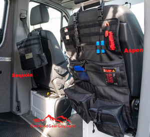 Aspen Seat Organizer by Overland Gear Guy - Custom Vehicle Organization