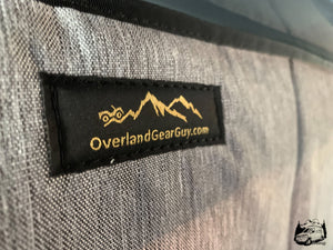 Deluxe Magnetic Insulated Sliding Door Window Cover for Sprinter Van - Custom Sprinter Van window covers by Overland Gear Guy - Custom Overland Gear