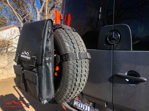 Sprinter Van Spare Tire Bag by Overland Gear Guy - Van Conversion Storage