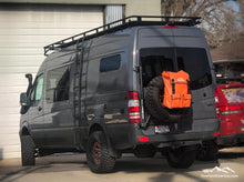 Load image into Gallery viewer, Sprinter Van Spare Tire Bag by Overland Gear Guy - Van Conversion Storage