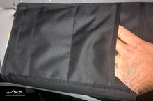 Load image into Gallery viewer, Sprinter Sun Visor Pouch by Overland Gear Guy Back View