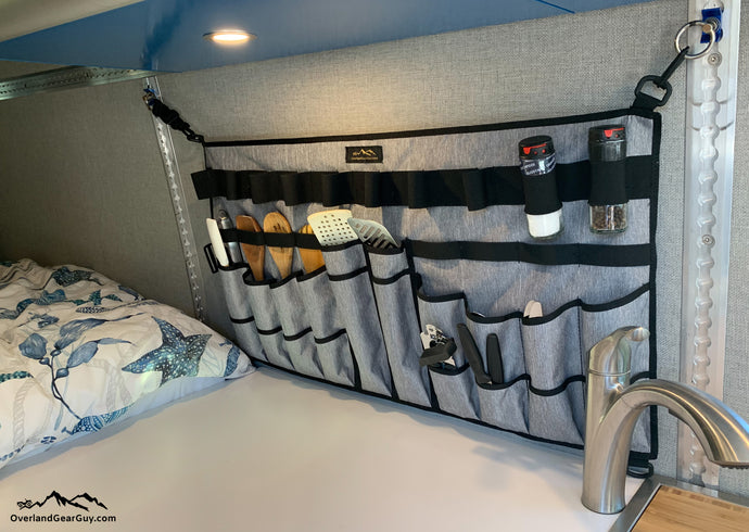 Top Chef Utensil Organizer, Van Life Utensil Organizer by Overland Gear Guy