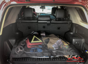 Custom 4runner cargo net, Toyota accessories by Overland Gear Guy