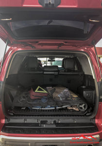 Custom 4runner cargo net, Toyota accessories