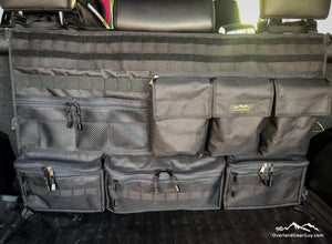4Runner Rear Organizer, 4Runner Seat Organizer, 4Runner Seat Caddy, Toyota accessories by Overland Gear Guy