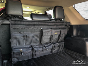 4Runner Rear Organizer, 4Runner Seat Organizer, Toyota accessories by Overland Gear Guy