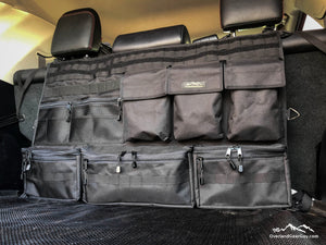 4Runner Rear Organizer, Mil Spec 4Runner Seat Organizer, Toyota accessories by Overland Gear Guy