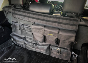 4Runner Rear Organizer, Mil Spec 4Runner Organizer, Toyota accessories by Overland Gear Guy