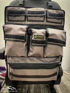 Universal Seat Organizer, Great for Sprinter Vans, Promaster Vans, Transit Vans, Jeeps, Pickups, Tacomas. 4Runners. - CHARCOAL