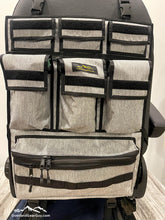 Load image into Gallery viewer, Universal Seat Organizer, Great for Sprinter Vans, Promaster Vans, Transit Vans, Jeeps, Pickups, Tacomas. 4Runners. - Obsidian