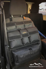 Load image into Gallery viewer, Universal Seat Organizer by Overland Gear Guy - Jeep Vehicle Organization