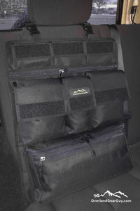 Universal Seat Organizer by Overland Gear Guy - Jeep Seat Organization