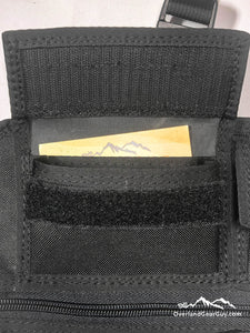Universal Seat Organizer by Overland Gear Guy - Velcro Pockets