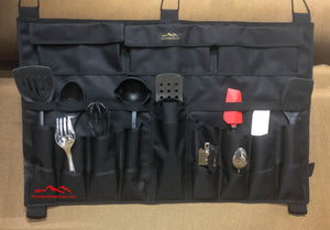 Overlanding Utensil Organizer by Overland Gear Guy