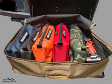 Load image into Gallery viewer, Van Gear Box Storage Bag by Overland Gear Guy, Custom Storage Bags