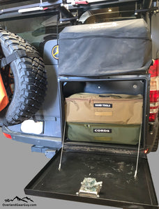Van Gear Box Storage Bag by Overland Gear Guy, Custom Storage Bags